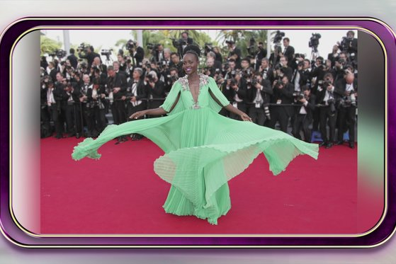 Lupita Twirls & Dazzles at Cannes
