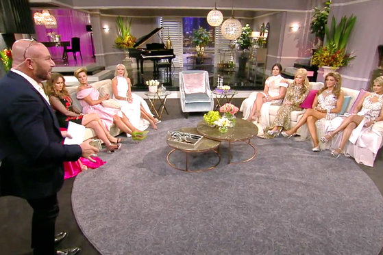 The #RHOMelbourne 'Wives Make the Host Walk Off