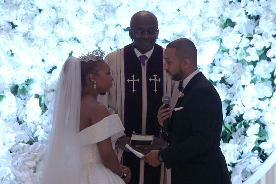 Michael Sterling's Wedding Vows to Eva Marcille