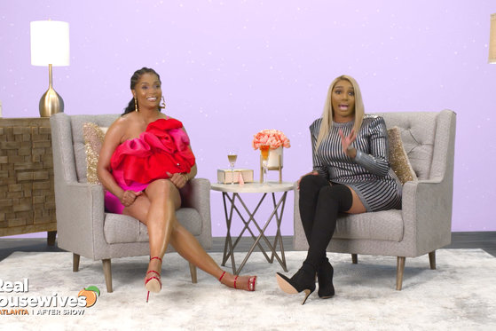 Nene Leakes Extended an Olive Branch to Kenya Moore That You Didn't See On Air