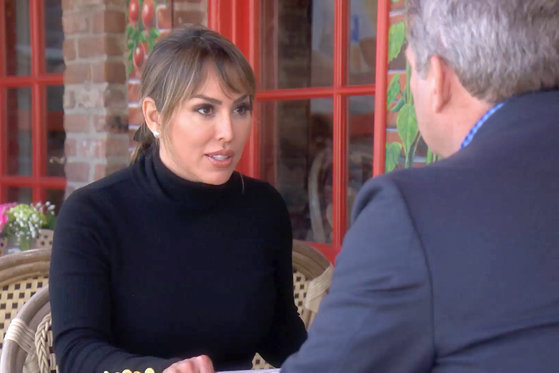 Kelly Dodd Tells Dr. Brian About the Train Rumor