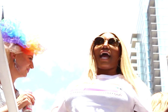 Nene Leakes and Cynthia Bailey Come Face to Face