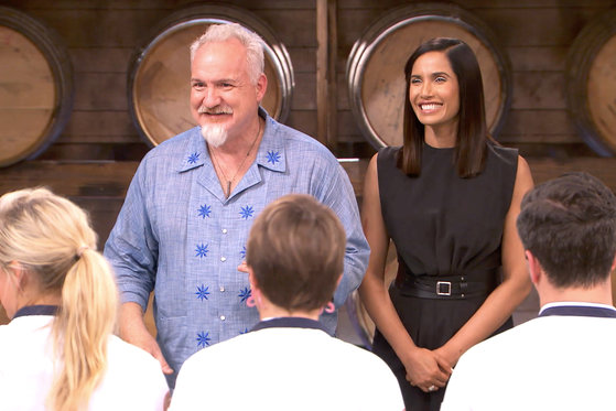 Go Behind the Scenes With Art Smith and Padma Lakshmi
