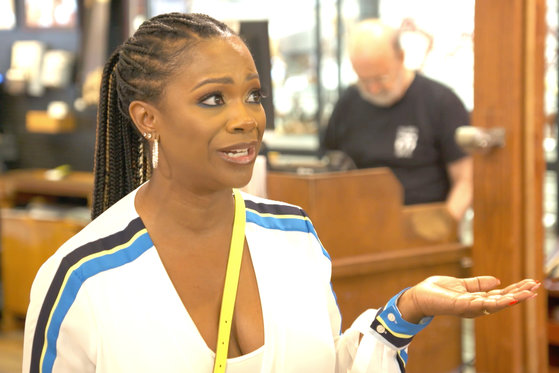 Kandi Burruss Tells Cynthia Bailey About the Alleged Audio Recording