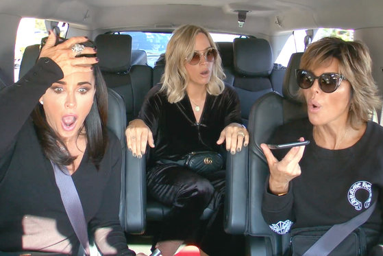 Camille Grammer and Denise Richards Evacuate Their Homes