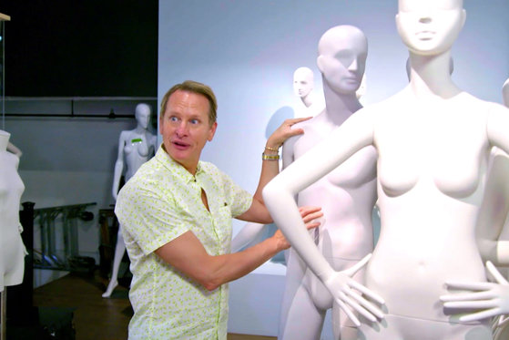 Carson Kressley Playing with Mannequins Will Make You LOL