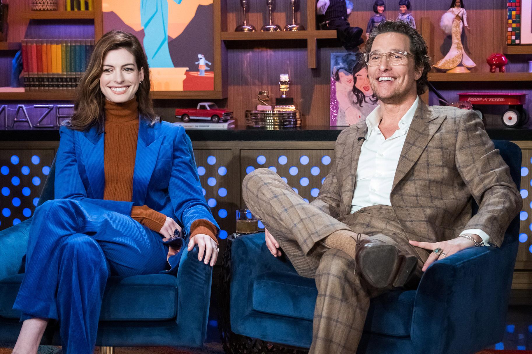 Watch Anne Hathaway Matthew Mcconaughey Watch What Happens Live