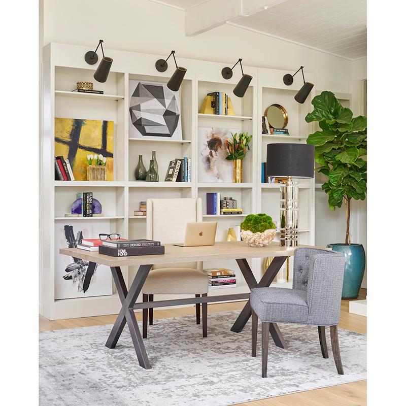 Jeff Lewis Alder Tweed Living Room, Jeff Lewis Furniture