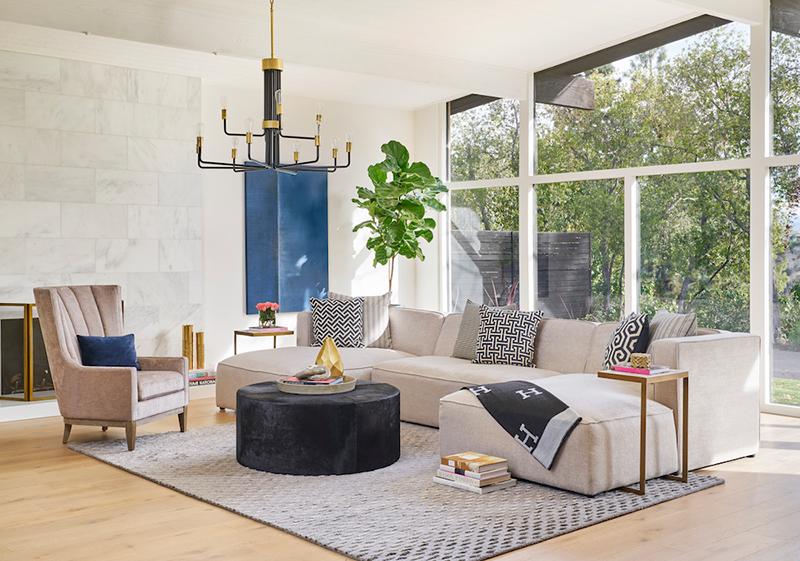 Jeff Lewis Alder Amp Tweed Living Room Dining Room Furniture