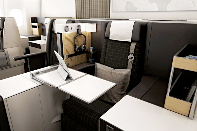 how to fly business class