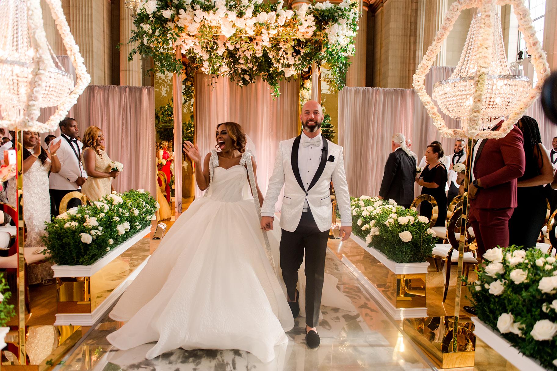 Real Housewives Of Potomacs Candiace Dillard Wedding Dress Lookbook
