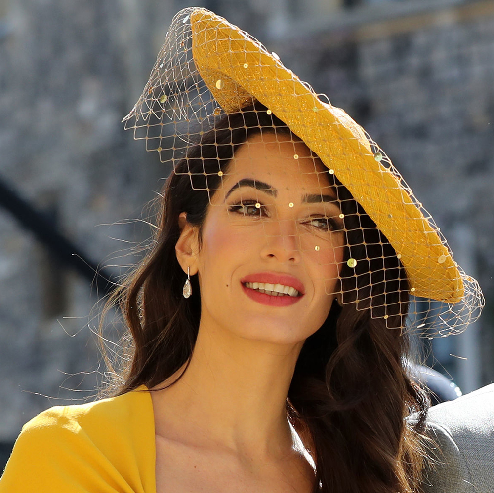 Royal Wedding 2018 Amal Clooney Wears Charlotte Tilbury