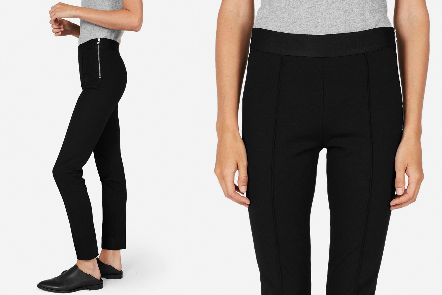 Comfortable Black Work Pants 9D2KQofT