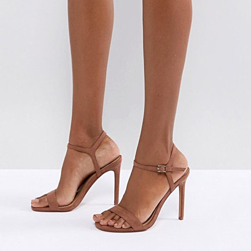 5393982f150 Nude Shoes for Every Skin Tone: Peach, Tan, Dark Sandals | Lookbook