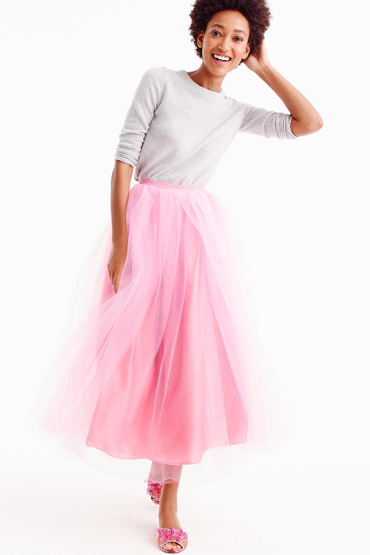 c5d1db5b6a Vila Leather Look Frill Midi Skirt – DACC